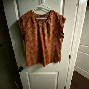 The Limited Multiple Fall colored blouse